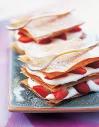 cuisine feuille de brick recette feuilles de brick fraises