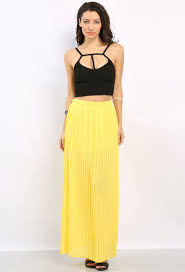 pleated chiffon maxi skirt shop new and now at papaya clothing