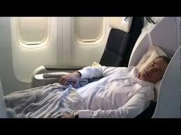 siege business air air business class on board cabin tour