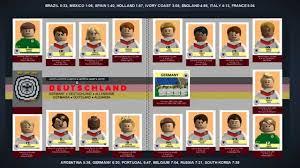LEGO World Cup Sticker Book 2014