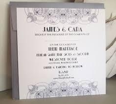 deco wedding invitations pleasing deco wedding invitations
