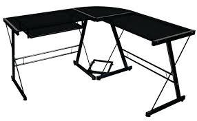 desk black and white corner office desk white and black desk