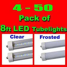 4 50pc 8ft 45w 6500k led light fa8 single pin fluorescent