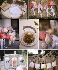 Rustic Decorations For Bridal Shower Posts