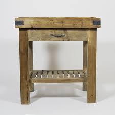 billot cuisine bois meuble cuisine bois recyclé authentiq style billot made in meubles