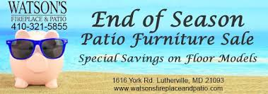 Watsons Patio Furniture Timonium by Watson U0027s Fireplace And Patio Home Facebook