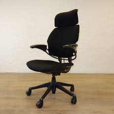 Human Scale Freedom Chair Manual by Freedom Chair In New Black Fabric