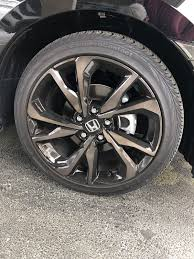 """SOLD - 2018 Hatchback 18"""" Sport Rims + Tires 