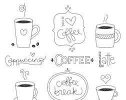 Clip Arts Related To Coffee Cup Heart Clipart