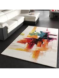 paco home teppich modern splash designer teppich bunt brush neu ovp klingel