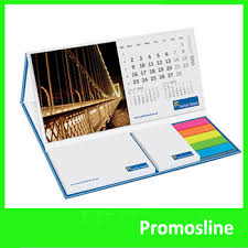 Hot Sale Custom Print Color Logo Sticky Note Desk Calendar Notepad Notes