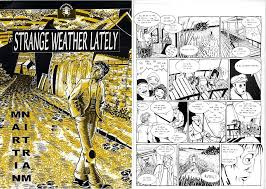 Our First Comic Strange Weather Lately Martin Nitram 1 Dec 1996 The Herald Punks Of Publishing 2004