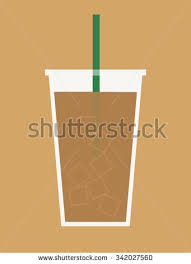Cup Of Iced Coffee