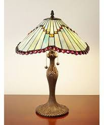 Tiffany Style Lamps Vintage by Louis Comfory Tiffany 1848 1933 Lotus Leaf Table Lamp Leaded