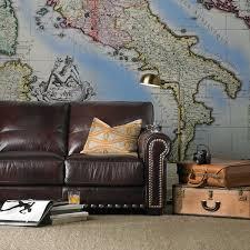 The Dump Furniture Tannery Closeout Italian Leather Sofa