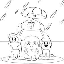 Largest Collection Of Dibujos Pocoyo Y Sus Amigos Para Colorear Pix