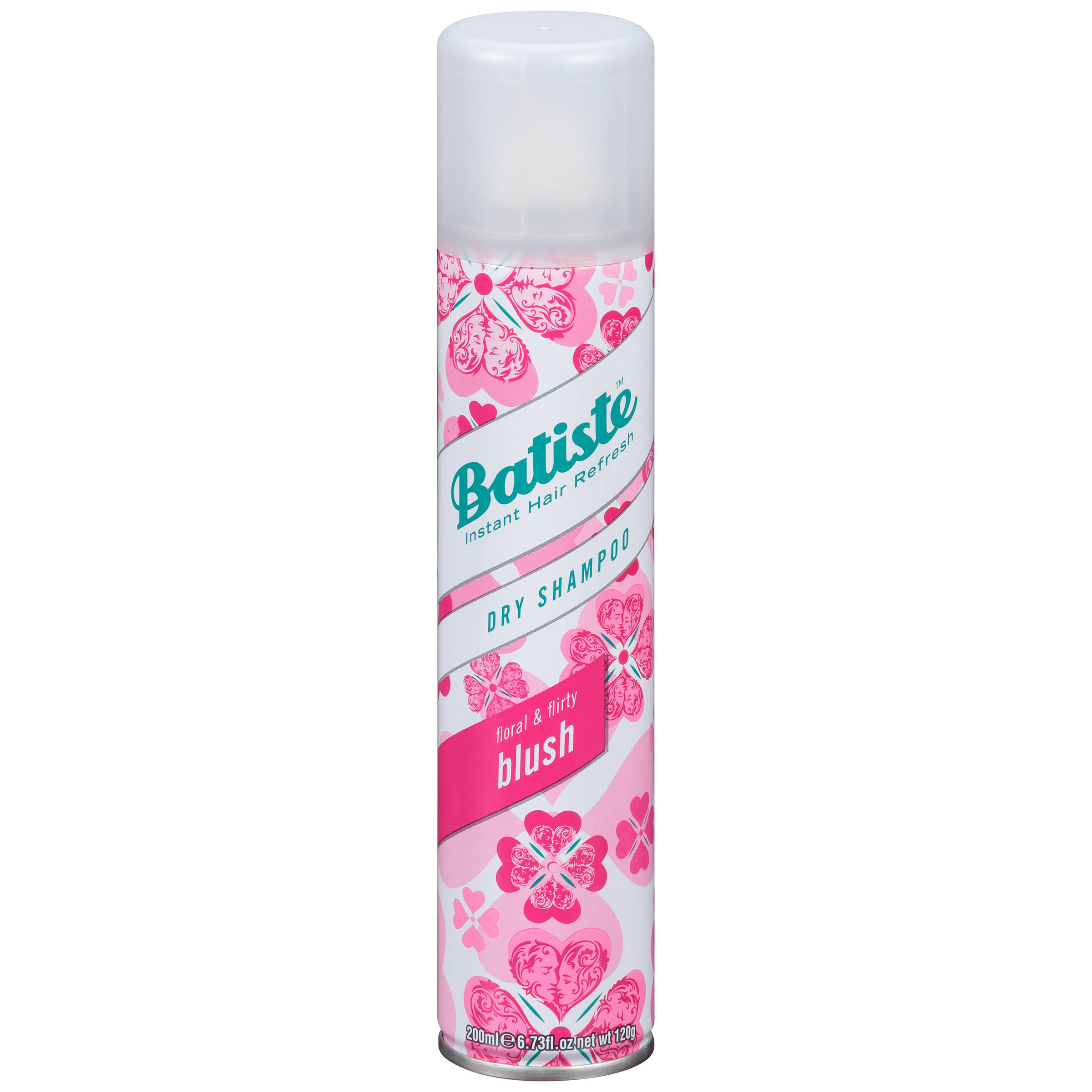 Batiste Dry Shampoo - Floral Flirty Blush, 200ml