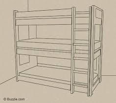 triple bunk bed ideas that are real and completely terrific