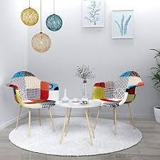 vadim esszimmerstühle 2er set küchenstuhl polsterstuhl wohnzimmerstuhl sessel mit rückenlehne retro design gepolsterter lstuhl küchenstuhl holz