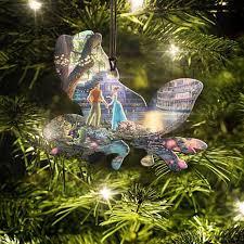 Thomas Kinkade Christmas Tree Cottage by Disney Thomas Kinkade Princess And The Frog Hanging Acrylic