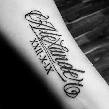 Forearm Name Tattoos Tattoo Collections 800x618 99