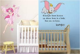 chambre bébé disney stickers chambre bébé déco magique disney pour votre loulou
