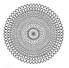 Full Image For Free Printable Mandala Coloring Pages Adults