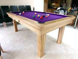 Dining Table Pool Combo And
