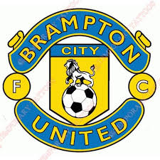 Brampton City United FC Customize Temporary Tattoos Stickers NO8265