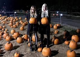 Garth And Kat Halloween by Jack O Lantern Mecca The Glow Nashville Wanderlust