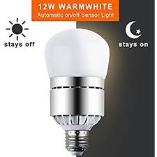 led light bulbs dusk to sensor lights bulb smart lighting