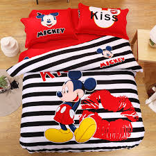 mickey mouse twin bedding funny modern storage twin bed design