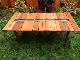 picnic table with planter and benches u2014 katie jackson woodworks