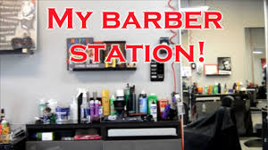 Barber Shop Design Ideas by My Barbershop Station Barber Tools And Products Youtube