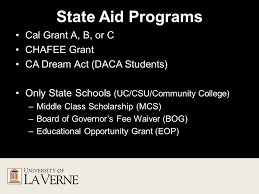 Cal Grant Income Ceiling Agi by How To Apply For Financial Aid Topics To Be Covered What Is The
