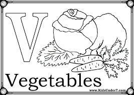 Free Coloring Pages Of Letter V Worksheet