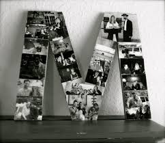 Letter Picture Collage