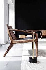 100 Contemporary Armchair Armchair In Wood LINNA By Jader Almeida SOLLOS