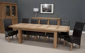 Bordeaux Oak Large Extending Dining Table 10 12 Seater