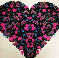 Heart Secret Garden Coracao Jardim Secreto Johanna Basford BasfordColoring BooksAdult