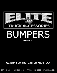 Elite Truck Accessories - 2017 Bumper Catalog - Page 1 - Created ... Adheracks Hashtag On Twitter Spotlight Trim For Kenworth W Model Elite Truck Accsories Banner 3 In 6w X 3h Grand General Auto Parts Dsc09978 Topperking Providing All Of Tampa Bay With Tampas Source Truck Toppers And Accsories Dna Used Trucks Pickup Semi Sale Store In Louisville Ky Thd Trailers Beaumont Tx Enclosed Dump Bus Quality Spares Undcover Classic Series Tonneau Bed Cover Toyota Tundra Kelsa High Light Bars The Trucking