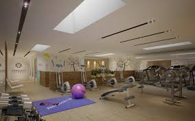 100 Download Interior Design Gym Fitness Interior Design Idea With Kids Area 3D Model