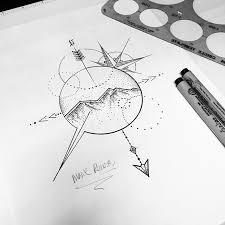 Drawn Compass Geometry 11