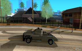 GMC Sierra Tow Truck For GTA San Andreas