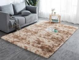 hochflor teppich wohnzimmerteppich langflor teppiche für wohnzimmer flauschig shaggy schlafzimmer bettvorleger outdoor carpet 200 x 300 cm beige mit