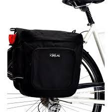 housse velo pas cher sacoche pour vélo avec fixation sur porte bagage oxus feu