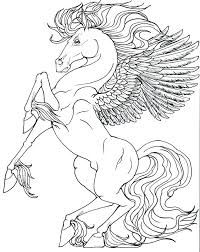 Pegasus Coloring Pages For Adults Unicorn More Catholic School Girls Funny Hype