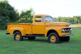 100 All Wheel Drive Trucks 1952 Ford F2 Marmon Harrington Truck V8 Flathead