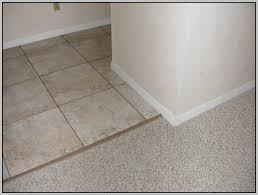 tile to carpet transition ideas tiles home decorating ideas
