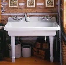 Kohler Gilford Sink Specs by Kohler K 12784 0 Gilford Scrub Up Plaster Sink With Single Hole